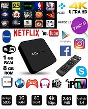 TV BOX MXQ-4K 1GB RAM 8GB ROM - Android - Smart Tv Box