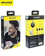 Ecouteur AWEI A825bl - Bluetooth Oreillette avec annulation de bruit CVC 6.0