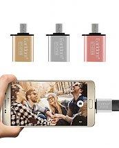 Adaptateur Clé OTG OT09 USB vers Micro USB - EARLDOM