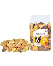 Snack chien biscuits Multi Mix 500g - Vadigran
