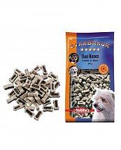Snack chien biscuits Mini Bones Agneau et Riz 200g - Nobby
