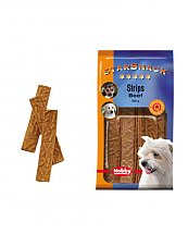 Snack chien biscuits Strips Boeuf 200g - Nobby