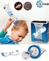 Licetec V-comb Peigne Aspirateur poux électrique - وداعا للقمل والحكة عند الاطفال