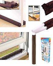 Twin Draft Guard Outils anti-poussière de fenêtre de porte Multifonctions