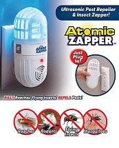 Atomic Zapper Répulsif à ultrasons Anti moustiques, cafards, mouches et rongeurs