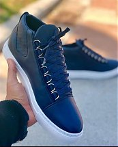 Chaussures Montantes Bleu homme - Fashion hiver 2019