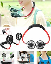 Neck Hanging Sport Fan 360° Portable USB Rechargeable