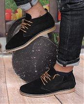 Bottes Désert Noir - Chaussures en danne très chique pour homme