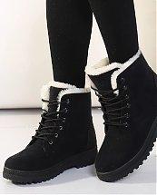 Bottes d'hiver Black Snow Fashion pour femme