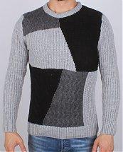 Pull en laine Tricot Fort Mosaique G.C.N Turk - Ce & Ce Fashion