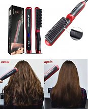 Brosse cheveux lisse Anti-Hot - Hair straightener HQT-908A