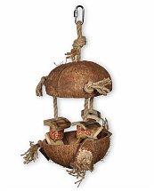 Jouet oiseau coco et bambou 36cm - Vadigran
