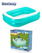 Piscine gonflable rectangulaire 2m01 x 1m50 x 0,51m - Bestway