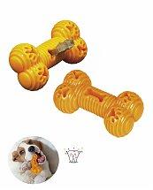 Jouet dentaire chien TPR Bone Orange 14 cm - Nobby