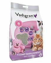 Litière pour Chat Clump Babypowder 12kg - VADIGRAN