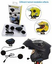 Casque moto casque sans fil Bluetooth V4.2 Ecouteur avec réduction du bruit