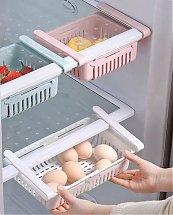 Pack 2 Tiroirs De Rangement Ajustable Pour Réfrigérateur