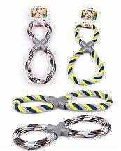Corde coton forme de 8 pour chien 250g 35cm - Vadigran