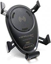 Support et Chargeur Konfulon cmq01 wireless car charger - Fast charge pour les smartphones