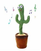 Jouet cactus en peluche pour enfants, Jouet électronique qui danse et chante Cactus