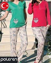 Pyjama Turque Coton Lovely Girl 2 pièces femme