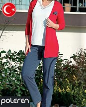 Pyjama Turque coton Cuty girl 3 pièces femme