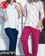 Pyjama Turque Coton Fresh Nature 3 pièces femme