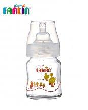 Biberon en verre Boro-Cilicate Col-large PM 120 ml