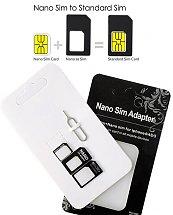 Adaptateurs pour cartes Nano SIM pour iPhone