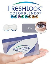 Pack Freshlook Colorblends (avec corrections) - Gris + Aqua Lens 120ml