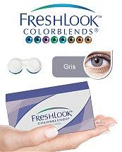 Pack Freshlook Colorblends (avec corrections) - Gris + Aqua Lens 120ml