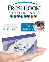 Pack Freshlook Colorblends (avec corrections) - True Sapphire + Aqua Lens 120ml