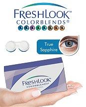 Pack Freshlook Colorblends (avec corrections) - True Sapphire + Aqua Lens 120ml