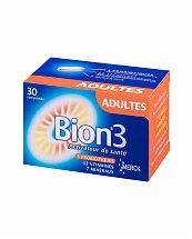 Bion 3 Adultes - Activateurs de santé (30 comprimés)