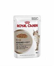 Bouchées en Sauce Royal Canin Ageing +12 ans - 12x85g pour chats