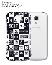Coque Brand Black & White Samsung Galaxy S4