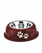Gamelle Inox Nice Diner - Rouge - 19 cm 0,35L