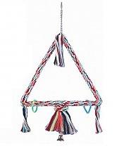 Jouet balançoire triangulaire pour Perroquet 41 cm de Vadigran