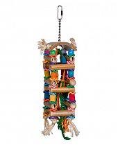Jouet en bois bamboo Tower pour Perroquet 20 cm de Vadigran