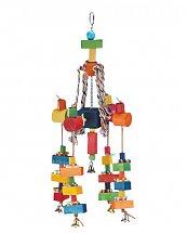 Jouet Multicolore matériaux divers pour Perroquet 60 cm de Vadigran
