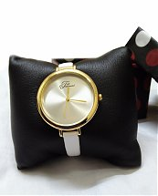 Montre Top Ornament White Mood pour femme
