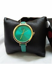 Montre Top Ornament Green Mood pour femme