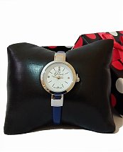 Montre Top Ornament Blue Swiss pour femme