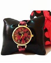 Montre Top Ornament Red Flower Nature pour femme