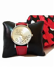 Montre Top Ornament Red Tic-Tac Late pour femme
