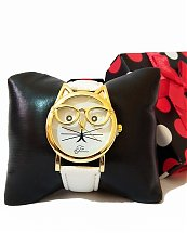 Montre Top Ornament White Cat pour femme