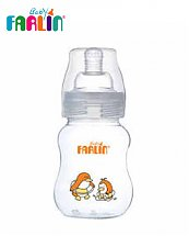 Farlin Biberon en plastique Col-Large 200 ml