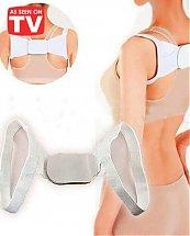 Correcteur de posture pour épaule dos droit - blanc