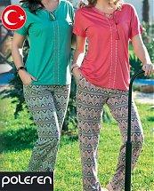 Pyjama Turque Coton African Pattern 2 pièces femme