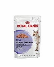 Bouchées en Sauce Royal Canin Digest Sensitive 12x85g pour chats
